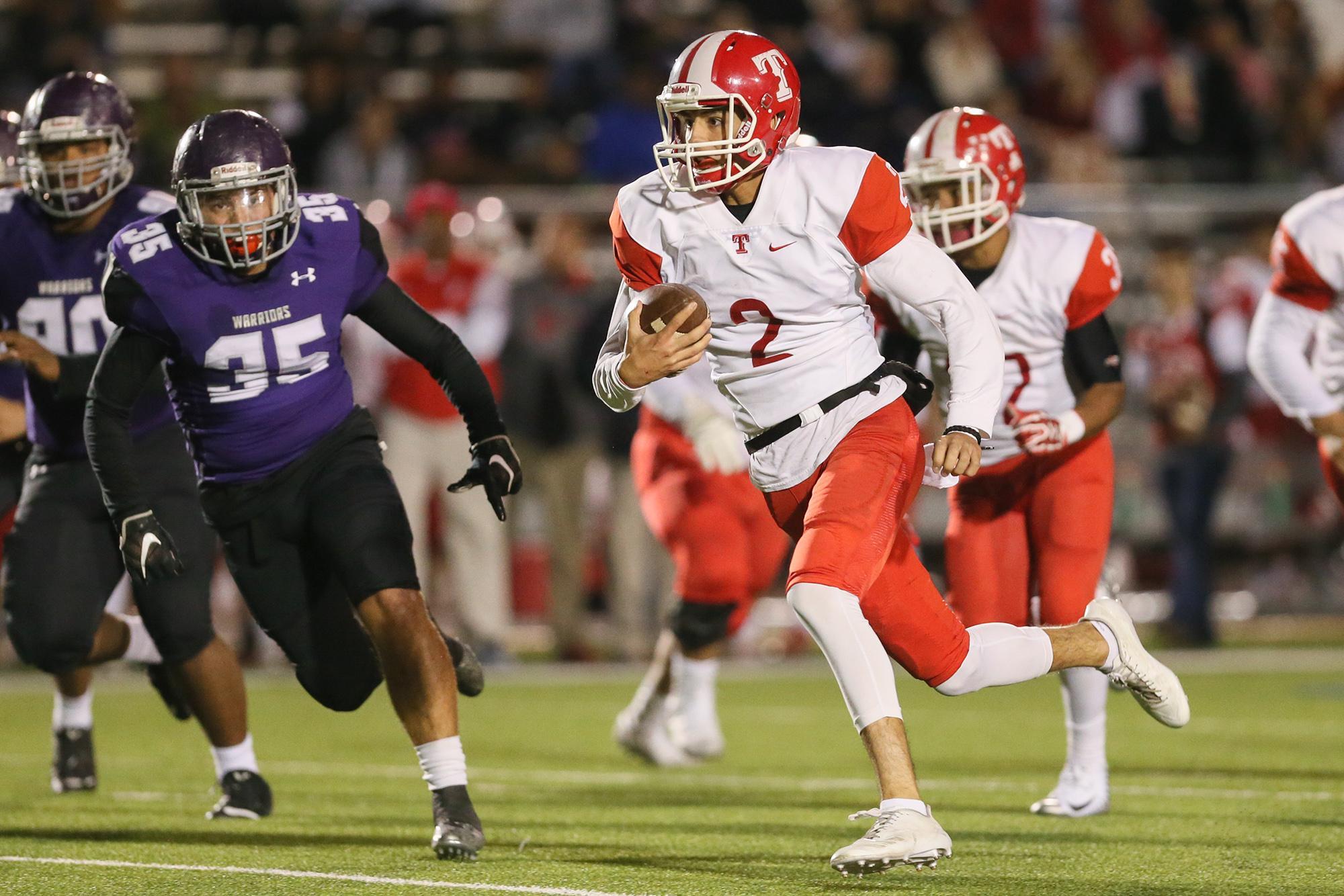 High School Football San Antonio Area Playoff Pairings