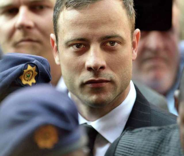 Oscar Pistorius Arrives For The Final Verdict At North Gauteng High Court On Sept