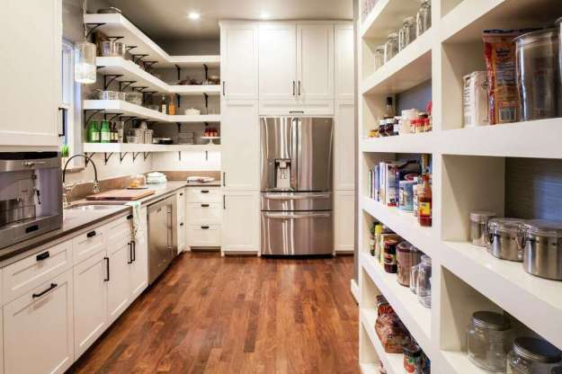 super pantries: making the most out of kitchen storage space