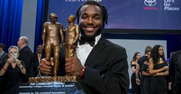 Stanford running back Bryce Love wins Lombardi Award - San ...