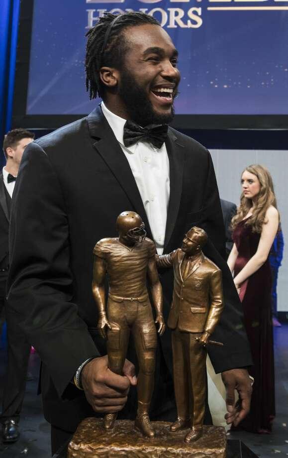 Stanford running back Bryce Love wins Lombardi Award ...