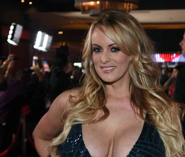 Adult Film Actress Director Stormy Daniels Attends The  Adult Video News Awards At The