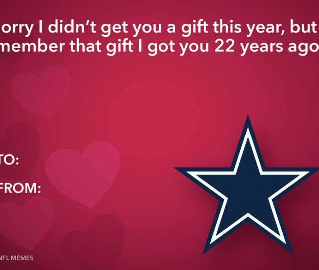 Photos The Best Nfl Themed Valentines Day Cardssource Nfl Memes On Facebook Photo