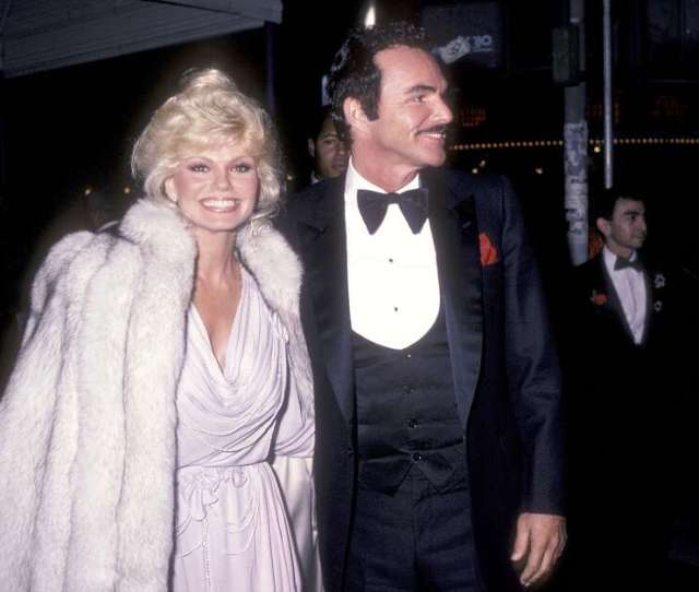 Actress Loni Anderson And Actor Burt Reynolds Attend The City Heat Hollywood Premiere On