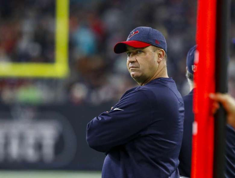 Houston Texans head coach Bill O'Brien watches from the sideline during the second quarter of an NFL game at NRG Stadium, Thursday, Oct. 25, 2018, in Houston. Photo: Karen Warren/Staff Photographer