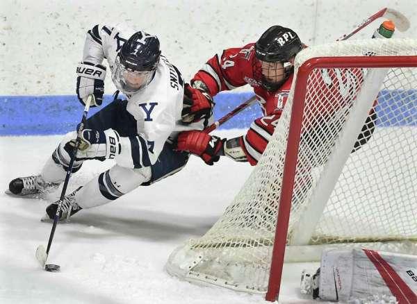 College hockey notes: Yale freshmen making an early impact ...