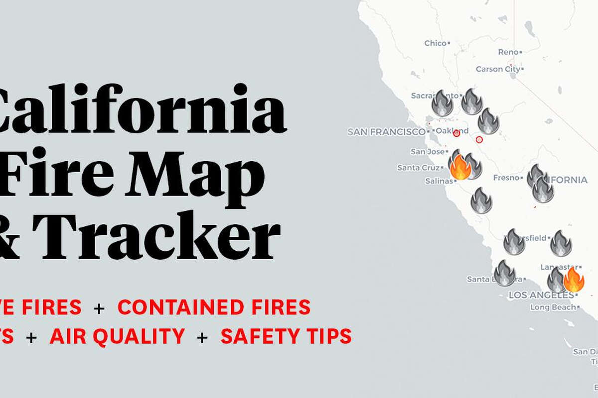 California Fire Map Tracking Wildfires Near Me Across Sf Bay Area Silverado Fire Updates And Evacuation Orders
