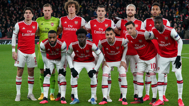 Arsenal FC » Squad 2020/2021