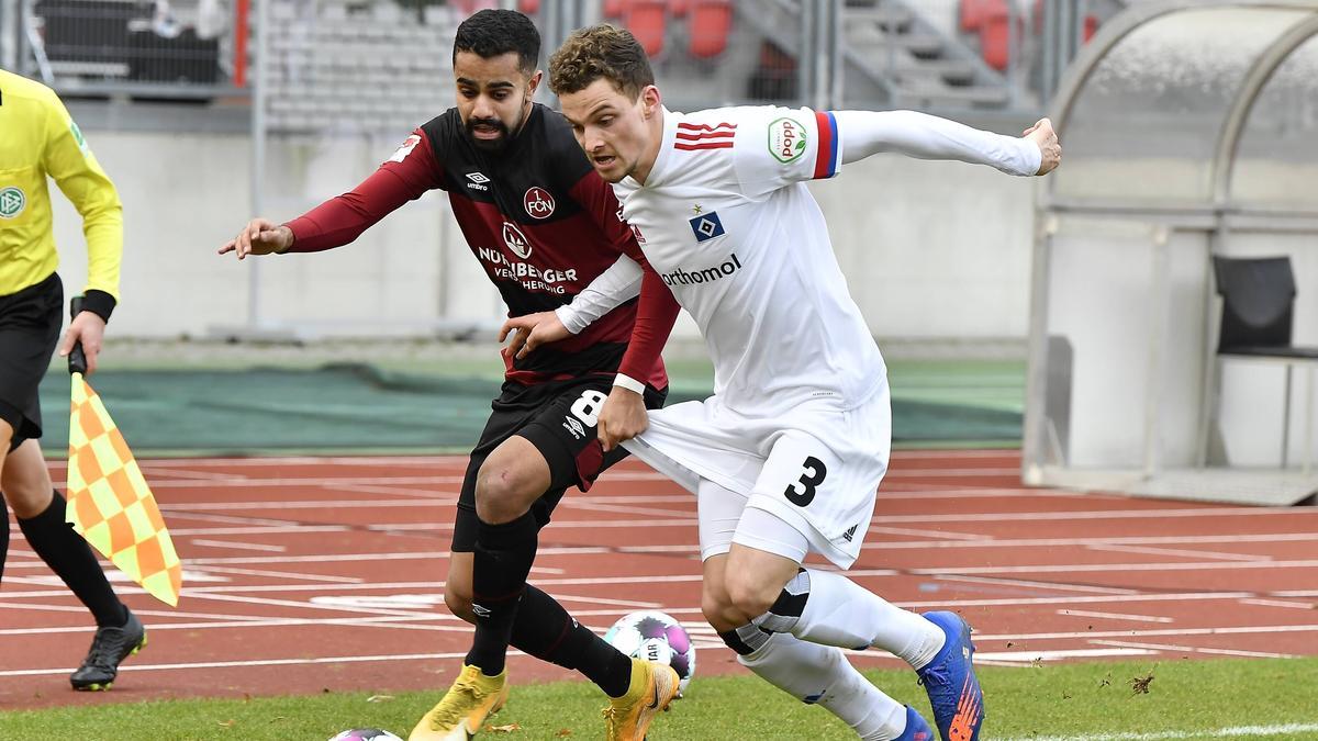 https www sport de news ne4303994 hsv bleibt tabellenfuehrer dank fc st pauli patzer beim 1 fc nuernberg