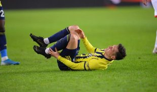 Özil was suspended on a stretcher in the match he played with Antalyaspor – football.ua