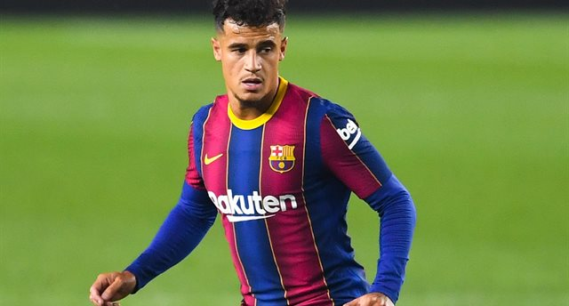 Philippe Coutinho will not help Barcelona against Juventus and Dynamo Getty Images