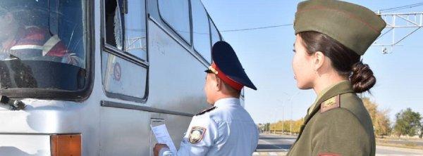В Алматинской области почти 40 водителей автобусов возили ...
