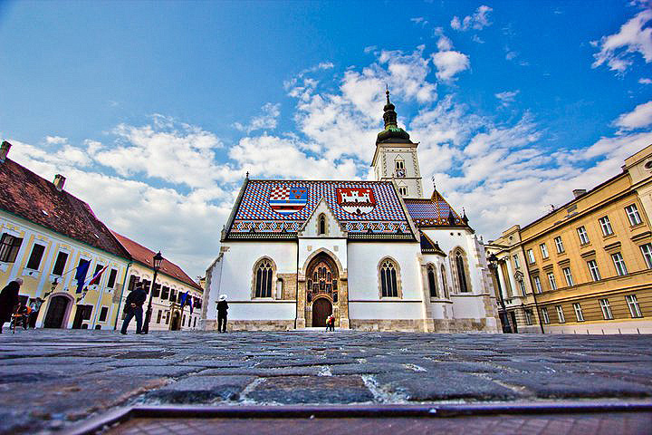 St Mark S Church Sightseeing Zagreb