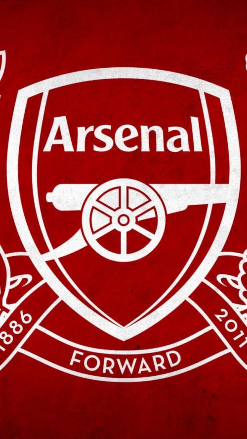 arsenal logo wallpaper for mobile free