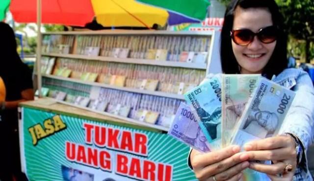 Image result for Menukar Uang Baru untuk Salam Tempel
