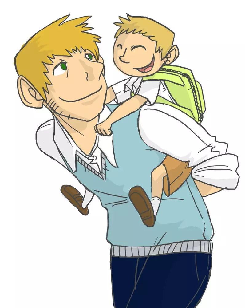 Hubungan Ayah Dan Anak Dikemas Dalam Komik Sederhana HOT THREAD KASKUS