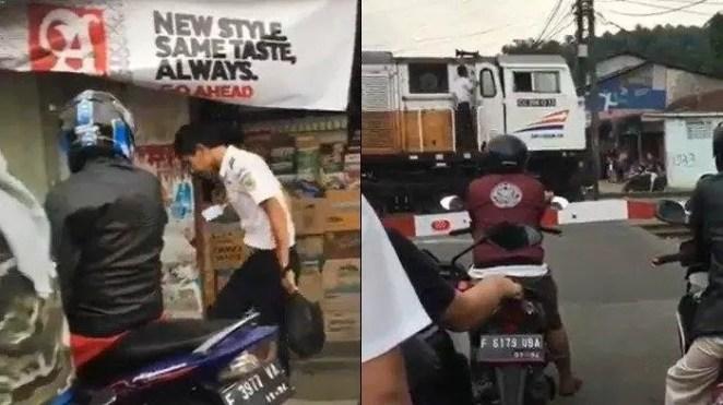 Video Kereta Berhenti Karena Masinis Jajan Viral, Pentingnya Cek Sebelum Menghujat