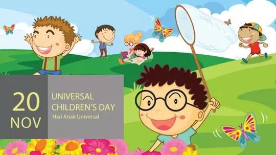 Selamat Hari Anak Sedunia ! | KASKUS