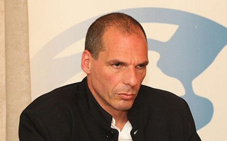 Ο κ. Γιάνης Βαρουφάκης, καθηγητής Οικονομικών και υποψήφιος βουλευτής με τον ΣΥΡΙΖΑ.