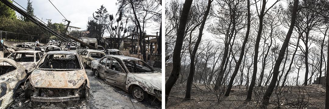 Μάτι ένας χρόνος μετά: Η ζωή έπειτα από τη φονική πυρκαγιά