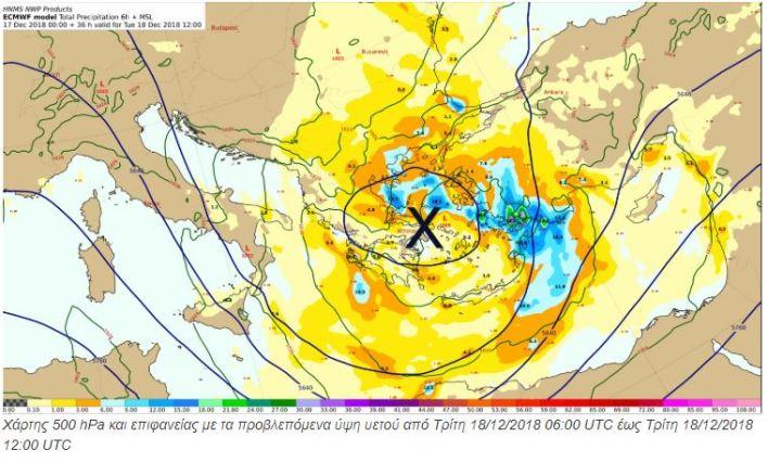 Βροχές, χιόνια και πτώση της θερμοκρασίας σε όλη χώρα