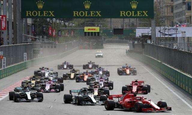 Resultado de imagen de salida formula 1