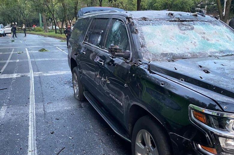 Un atentado contra el jefe de Seguridad de la capital de México ...