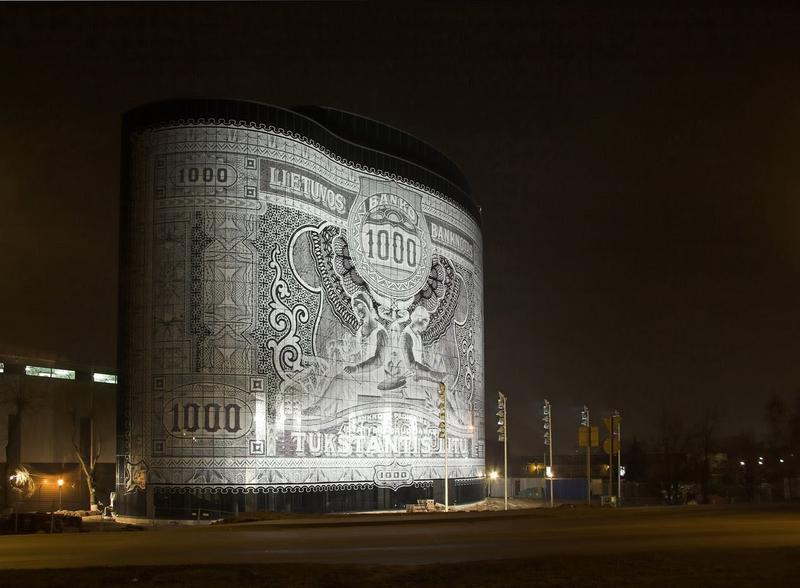 """Edificio """"Billete de 1000"""", Kaunas, Lituania"""