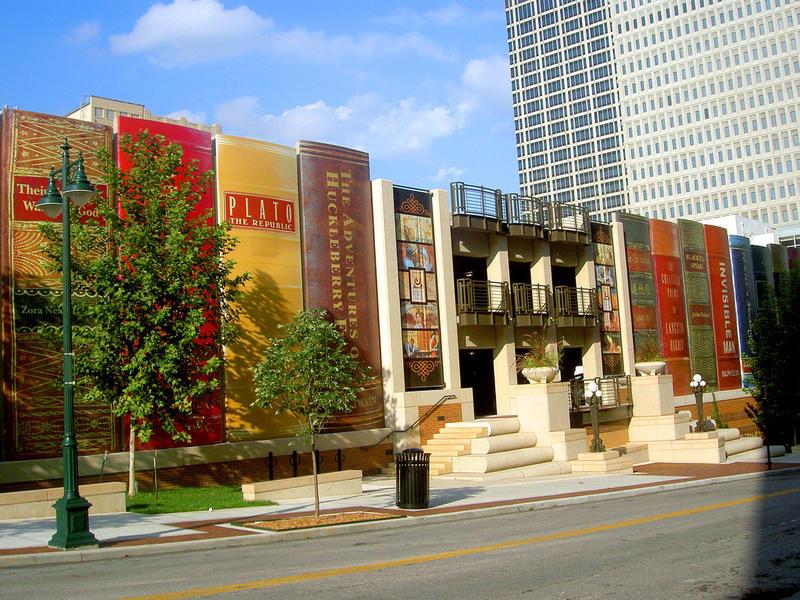 Parking de la Biblioteca Pública de Kansas City, EEUU