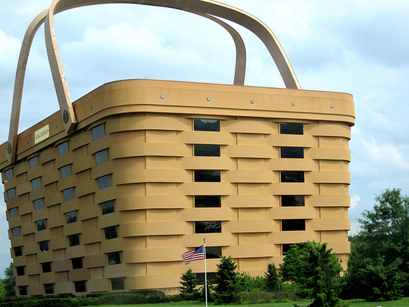 Edificio Cesta Longaberger,Newark, Ohio, EEUU