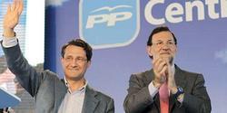 Gerardo Conde Roa, junto a Rajoy | EFE