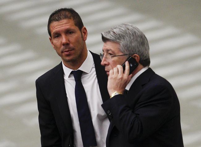 Enrique Cerezo y Simeone no se ponen de acuerdo 1