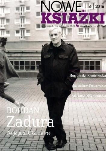 Okładka książki Nowe Książki nr 6/2016
