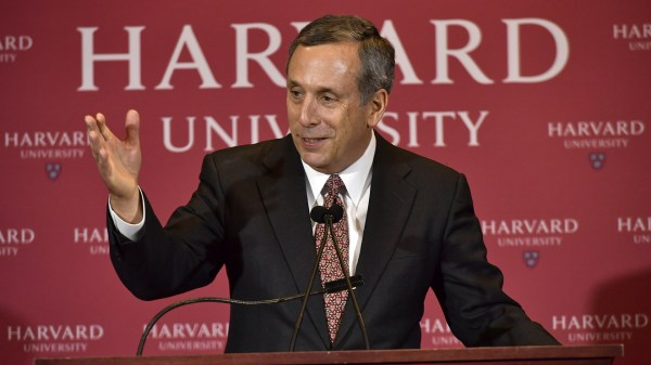 Harvard names Lawrence Bacow as its new president ...