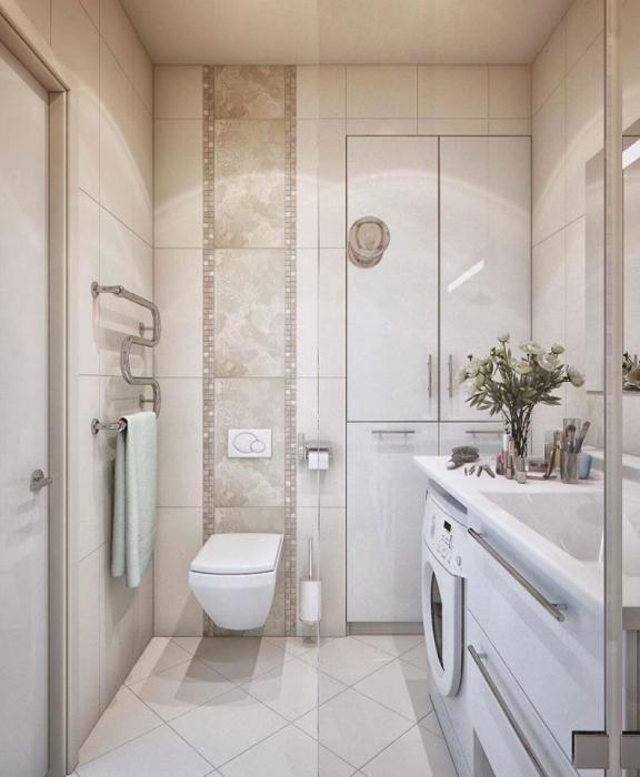 малогабаритная ванная комната интерьер и дизайн 7