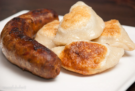 Image result for gourmet perogies sausage