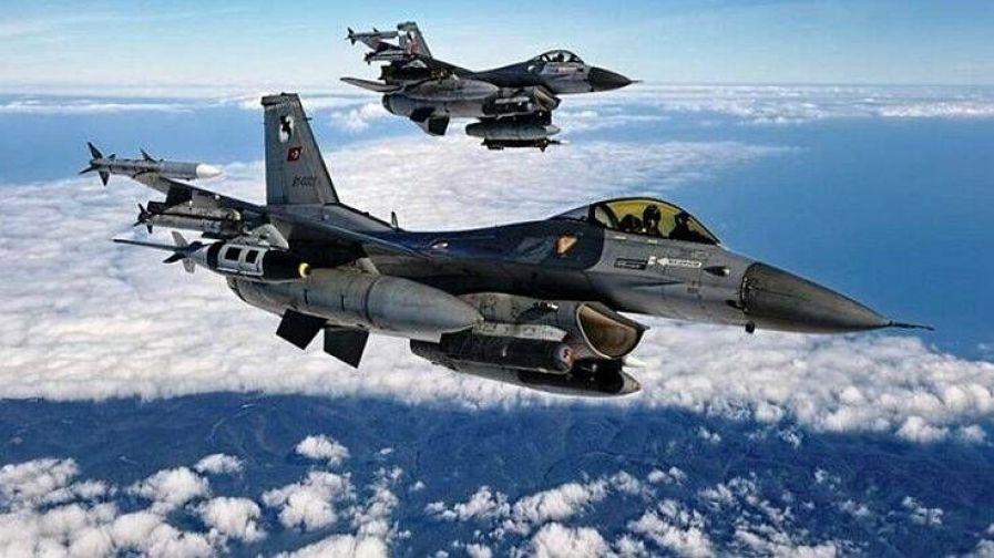 Τουρκικά F-16 πέταξαν δύο φορές πάνω από τη Λέσβο