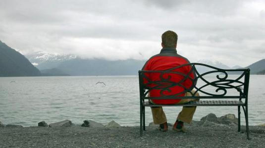 Männer machen Krebserkrankung mit sich selbst aus