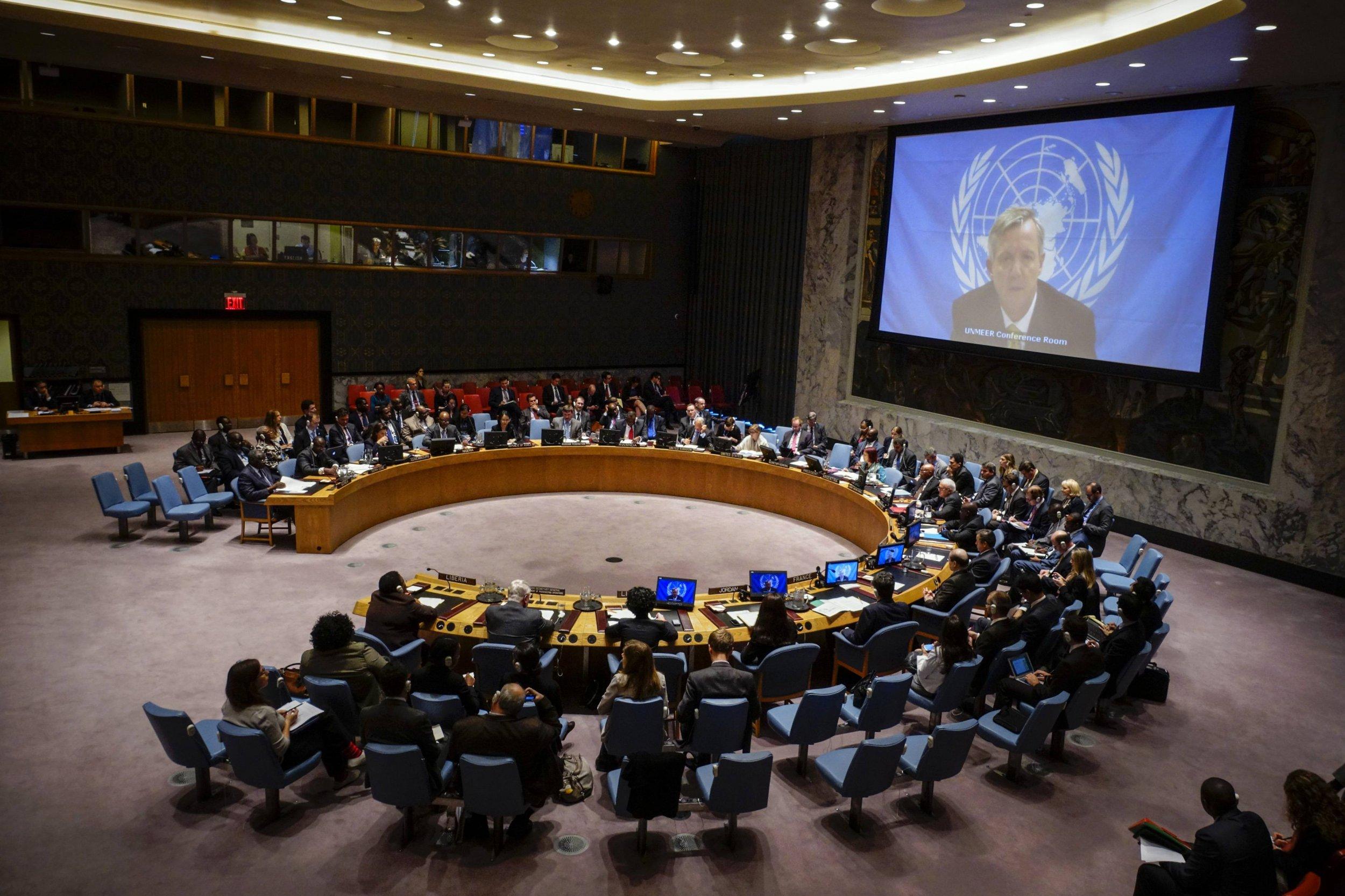 Turkey Loses U N Security Council Seat In Huge Upset