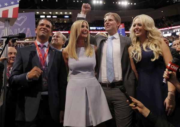 Donald Trump's Kids Saved the 2016 Republican National ...