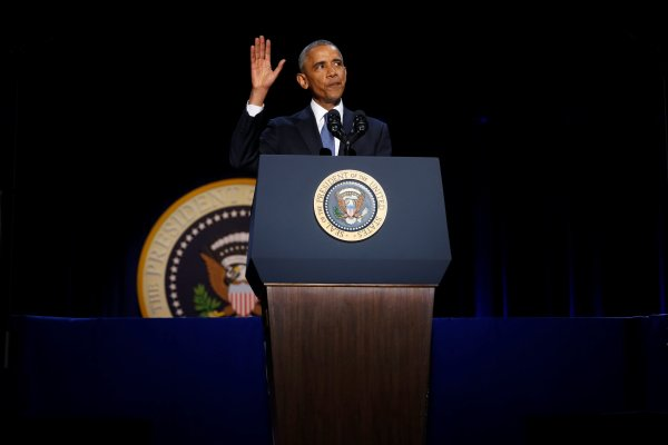 Barack Obama's Flawed and Remarkable Farewell Speech