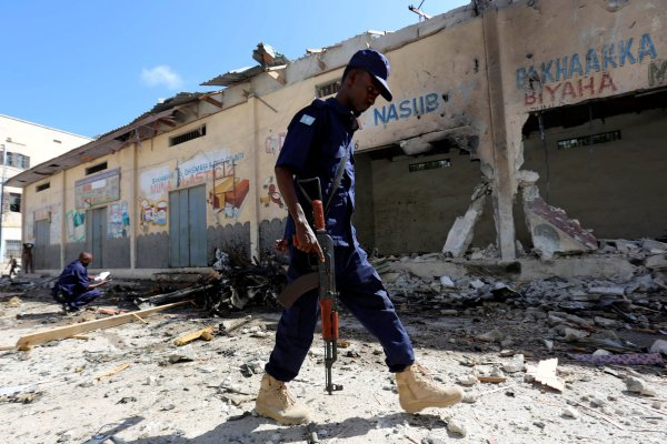Al-Shabab: Car Bomb 'Kills Two' in Somalia Capital