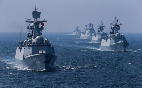 South China Sea: Chinese Military Unveils First of 18 'New ...