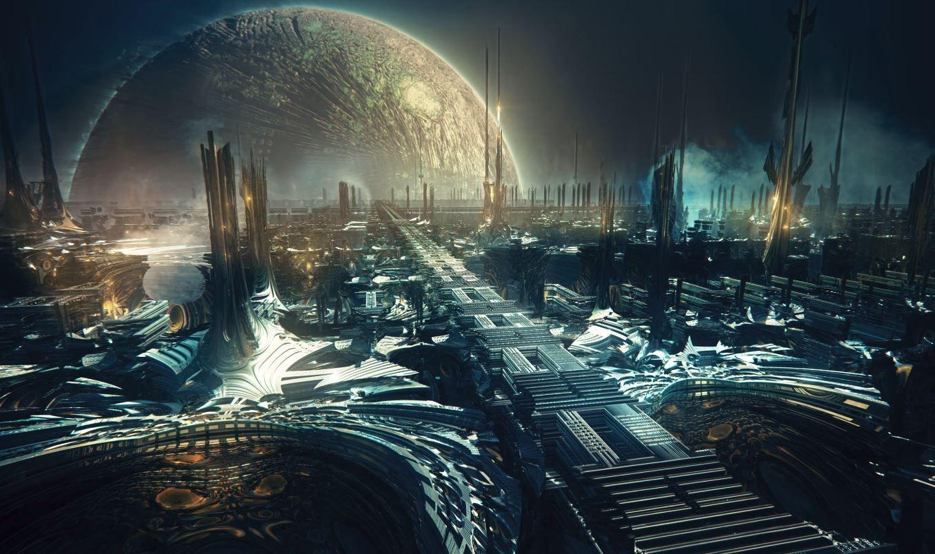 Sci Fi Artificial Garden