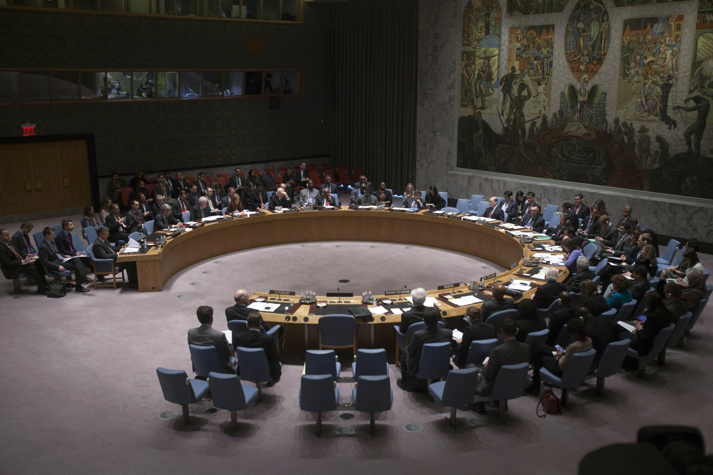 U N Unanimously Endorses Syria Peace Plan