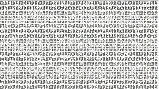 Largest Prime Number Ever IdentifiedAnd Its 22 Million