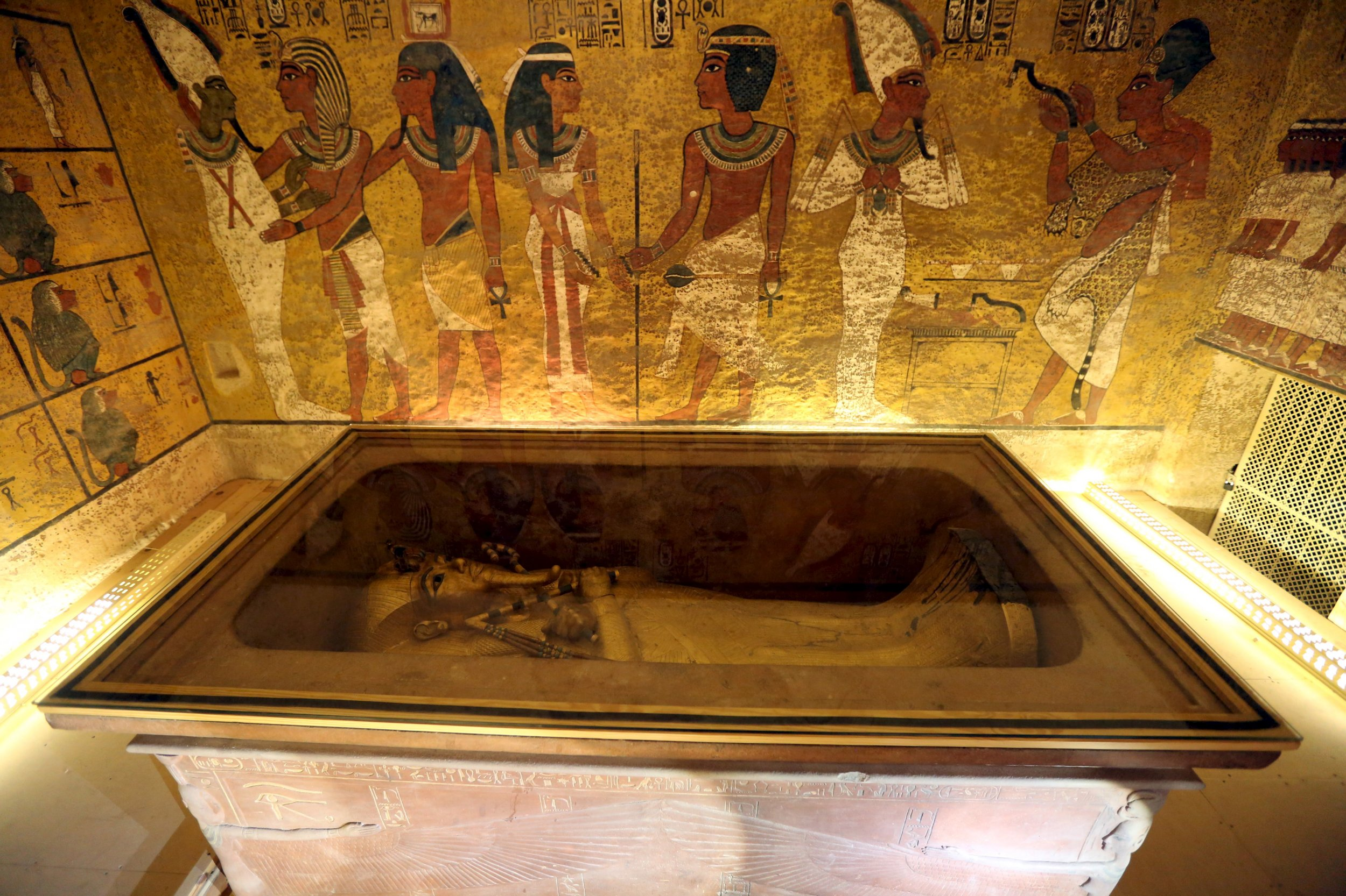 Scans Of King Tutankhamun S Tomb May Have Revealed