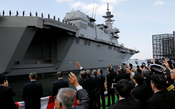 Japan's Largest Warship to Guard U.S. Vessel as North ...