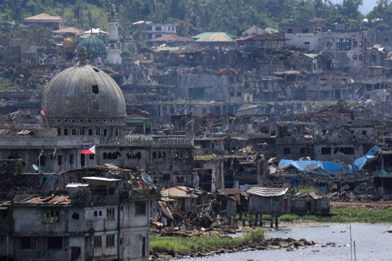 Image result for Philippines, marawi, after fighting stopped, photos
