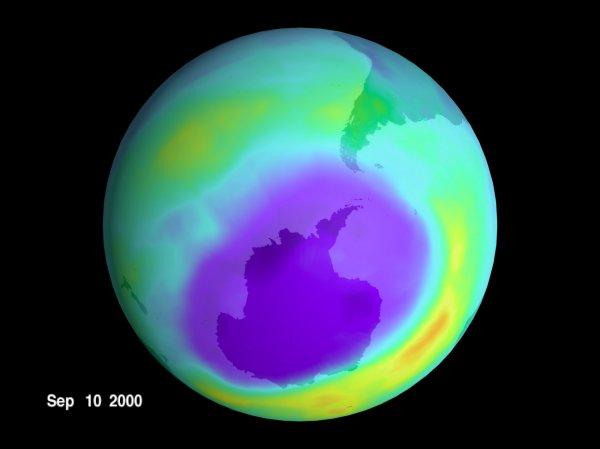 NASA: Hole in Earth's Ozone Layer Finally Closing Up ...